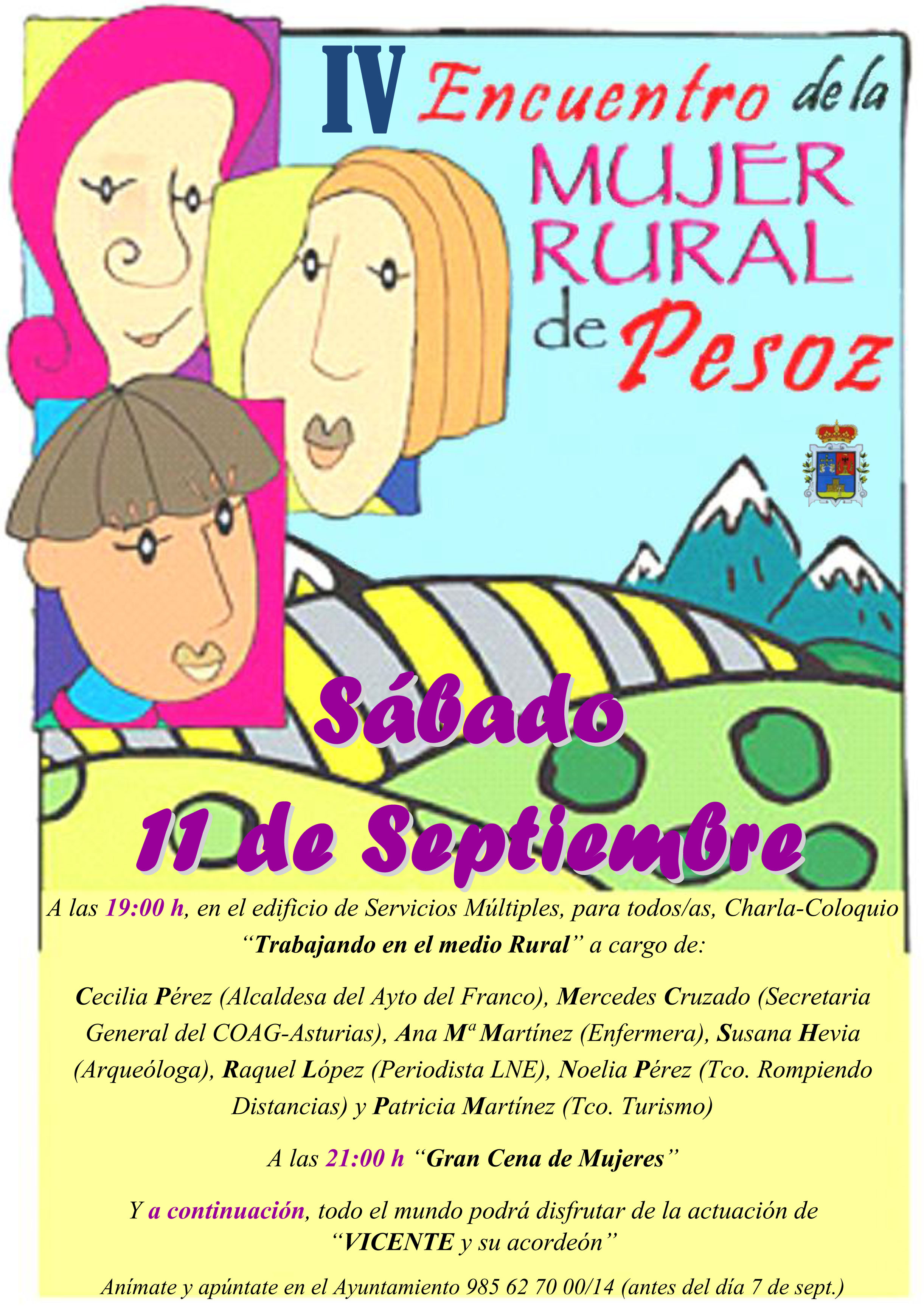 IV Encuentro Mujer Rural